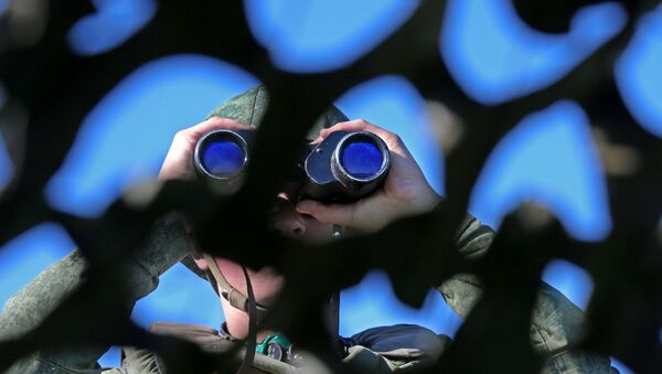 Военные учения, фото из архива - Sputnik Азербайджан