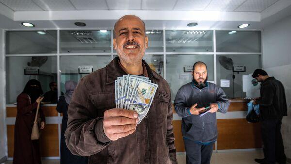Bank əməliyyatı, arxiv şəkli - Sputnik Азербайджан