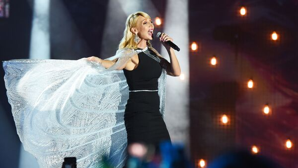 Певица Кристина Орбакайте, фото из архива - Sputnik Азербайджан