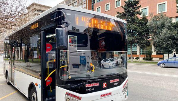 4 nömrəli avtobus - Sputnik Азербайджан