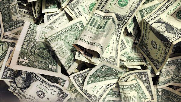 Купюры американских долларов, фото из архива  - Sputnik Азербайджан