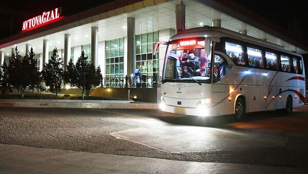 Автобусный автовокзал в Нахичеване, фото из архива - Sputnik Азербайджан