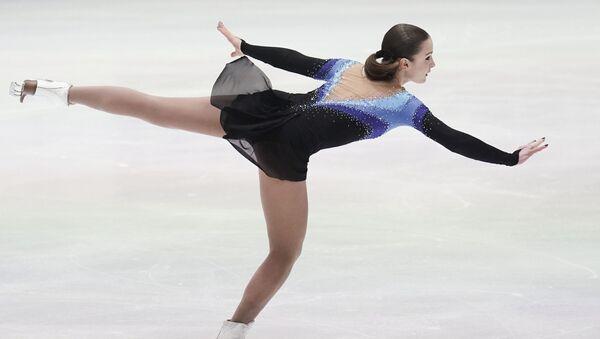 Екатерина Рябова (Азербайджан) выступает с произвольной программой в соревнованиях среди женщин на чемпионате Европы по фигурному катанию - Sputnik Азербайджан