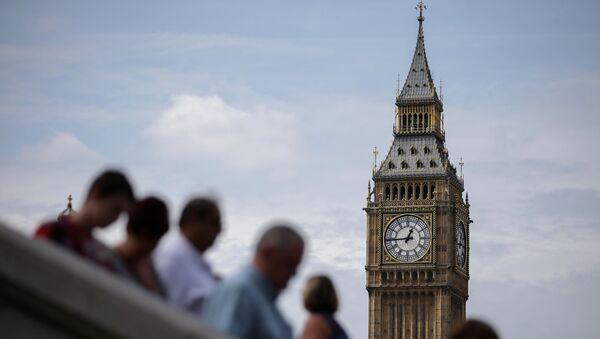 Вид на Биг-Бен в Лондоне, фото из архива - Sputnik Азербайджан