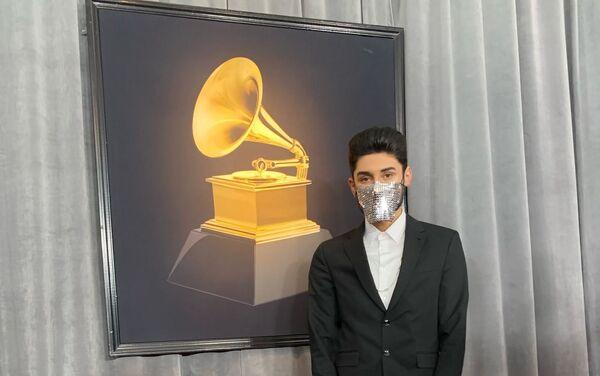 Эмин Эминзаде на 62-й торжественной церемонии вручения самой престижной музыкальной премии мира – Grammy - Sputnik Азербайджан