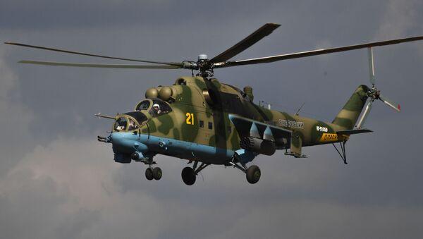 Вертолет Ми-24, фото из архива - Sputnik Азербайджан