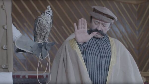 Сцена из фильма Архив Шоллера - Sputnik Азербайджан