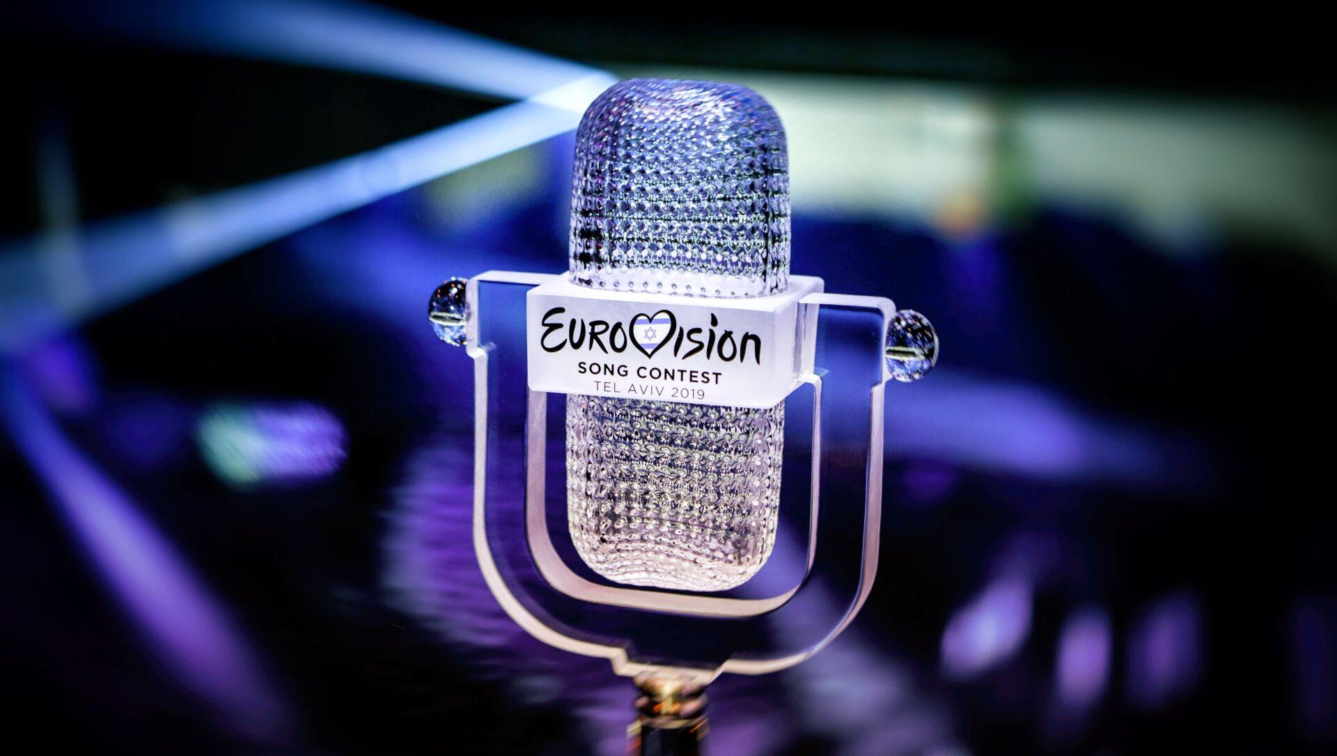 Главный приз Евровидения – хрустальный микрофон - Sputnik Азербайджан, 1920, 20.09.2021
