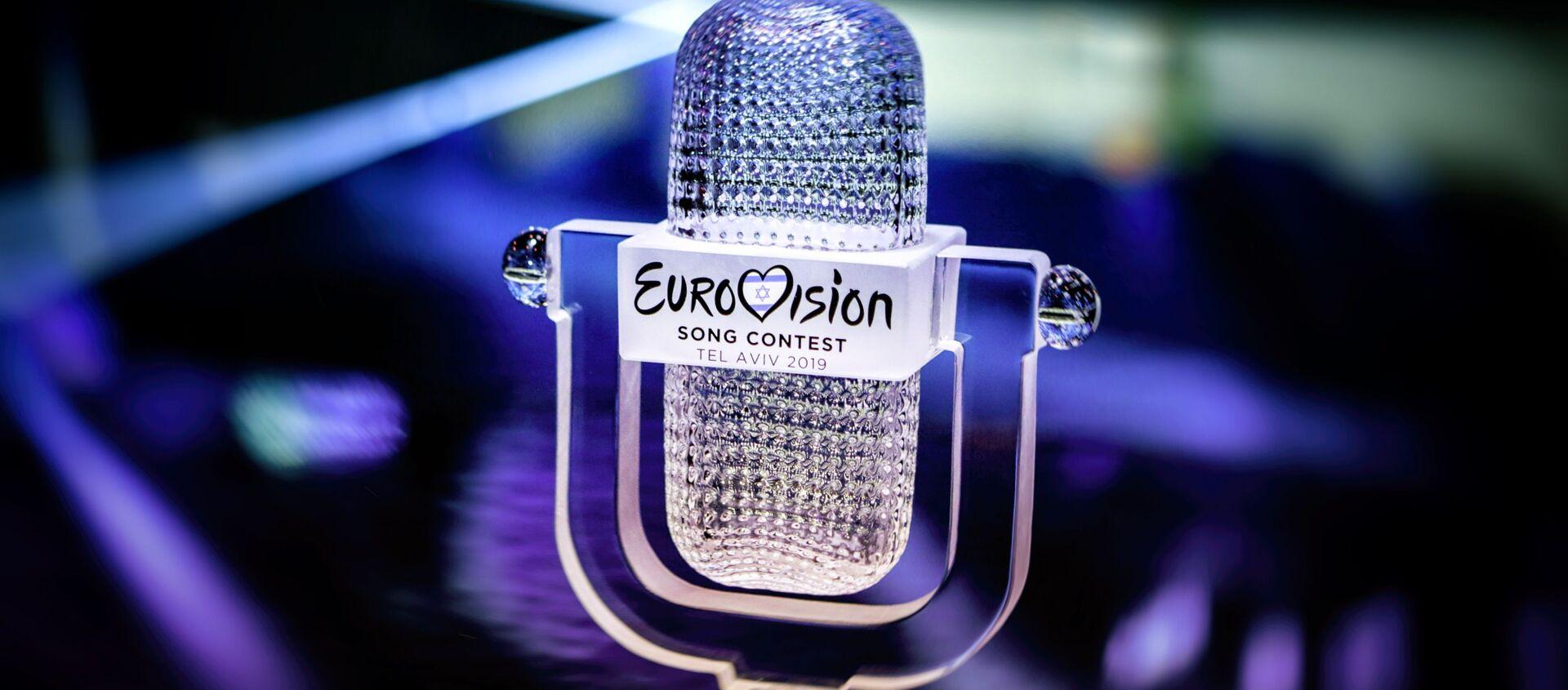 Главный приз Евровидения – хрустальный микрофон - Sputnik Азербайджан, 1920, 03.03.2021