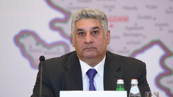 Министр молодежи и спорта Азад Рагимов - Sputnik Азербайджан