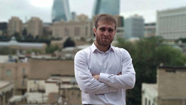 Азербайджанский поэт Сахиб Мамедов - Sputnik Азербайджан