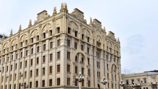 МВД АР. Фото АЗЕРТАДЖ - Sputnik Азербайджан