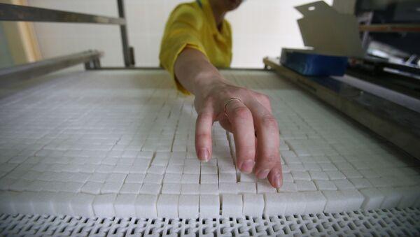 Работа сахарного завода, фото из архива - Sputnik Азербайджан