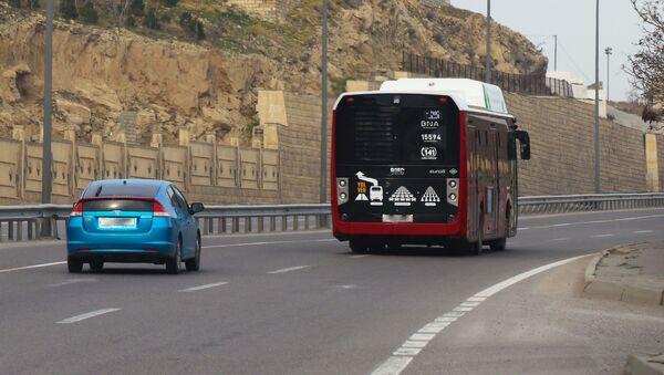 Автобус Bakubus, фото из архива - Sputnik Азербайджан