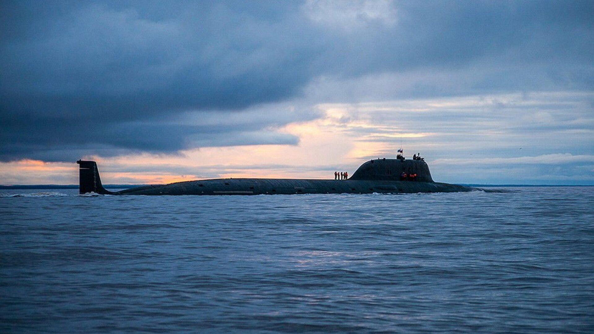 Атомная подводная лодка Северного флота «Северодвинск» - Sputnik Azərbaycan, 1920, 06.10.2021