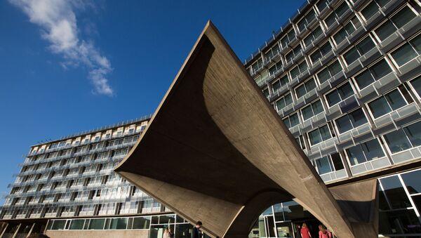 Штаб-квартира ЮНЕСКО (учреждения Организации объединенных наций по вопросам образования, науки и культуры) в Париже - Sputnik Азербайджан