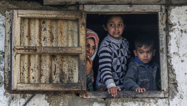 Дети, фото из архива - Sputnik Азербайджан