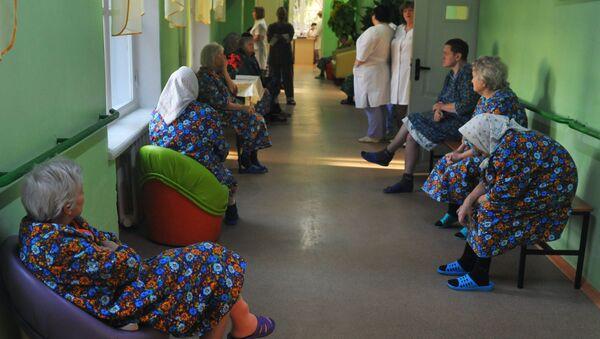 Очередь в больнице, фото из архива - Sputnik Азербайджан