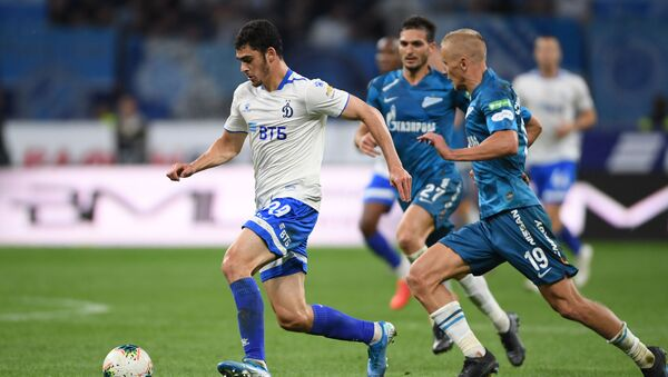 Игрок Динамо Рамиль Шейдаев (слева), фото из архива - Sputnik Азербайджан