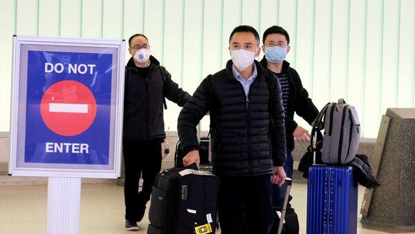 Ситуация в связи с эпидемиологической обстановкой в Китае - Sputnik Азербайджан
