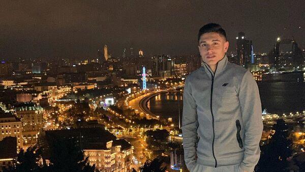 Форвард молодежной сборной Азербайджана по футболу Фарид Набиев, фото из архива - Sputnik Азербайджан