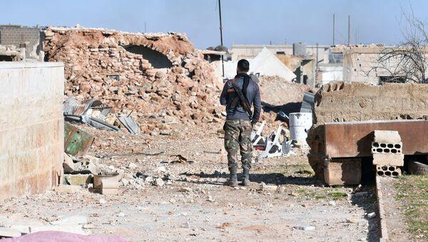 Провинция Идлиб на севере Сирии, фото из архива - Sputnik Азербайджан
