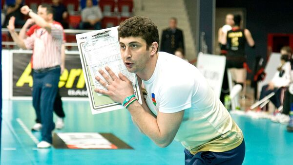 Тренер из Азербайджана Зия Раджабов, фото из архива - Sputnik Азербайджан
