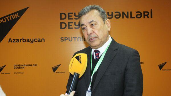 Координатор миссии наблюдателей Межпарламентской ассамблеи СНГ Содик Сафоев - Sputnik Азербайджан