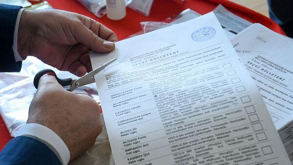 Парламентские выборы в Баку, 9 февраля 2020 года - Sputnik Азербайджан