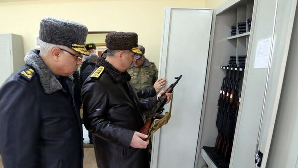 В воинской части ВВС переданы в пользование новые объекты - Sputnik Азербайджан