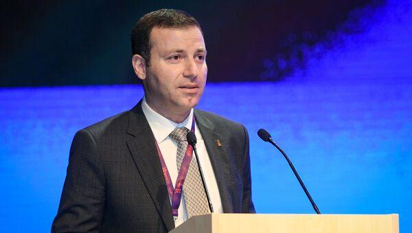 Исполнительный вице-президент Ассоциации футбольных федераций Азербайджана (АФФА) Эльхан Мамедов - Sputnik Азербайджан