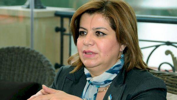 Gülər Əhmədova - sabiq deputat - Sputnik Azərbaycan