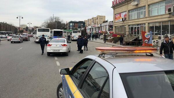 Qanunsuz parklanmaya qarşı tədbir - Sputnik Азербайджан