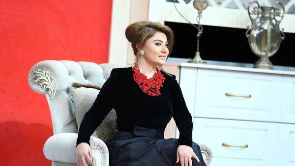 Бизнес- леди, экс- певица Рухи Алиева, фото из архива - Sputnik Азербайджан