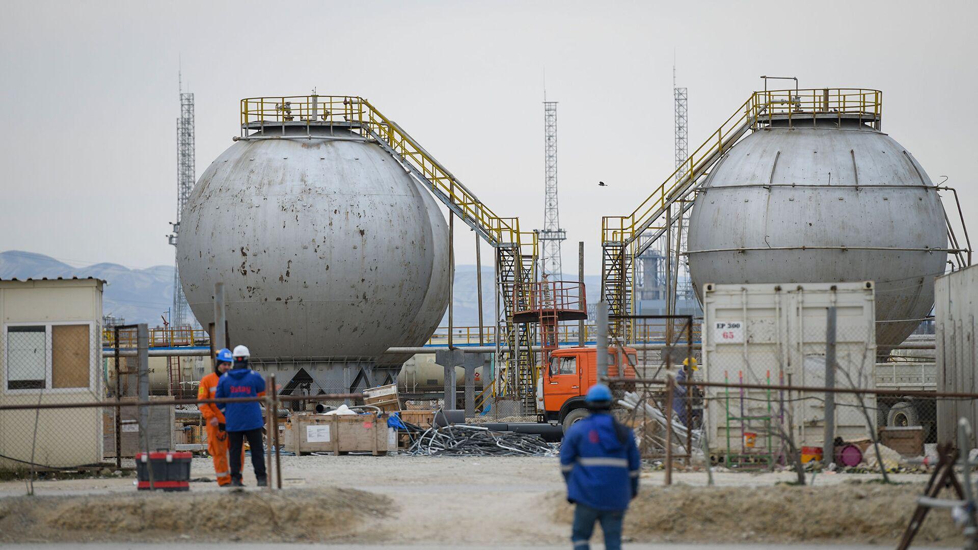 Модернизация завода Этилен-полиэтилен в Сумгаите - Sputnik Азербайджан, 1920, 11.10.2021