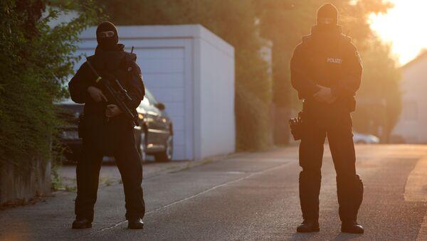 Полиция в Германии  - Sputnik Азербайджан