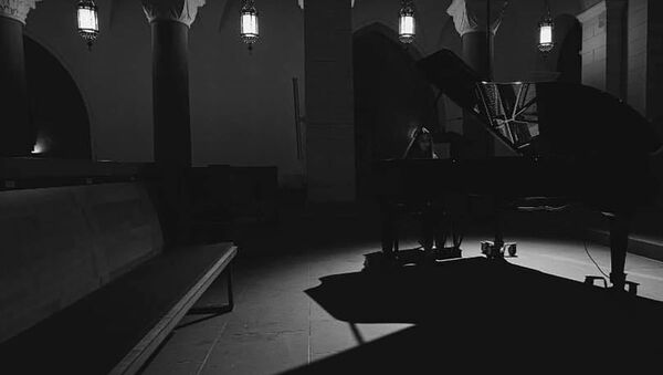 Азербайджанская пианистка Лейла Зейналова, фото из архива - Sputnik Азербайджан