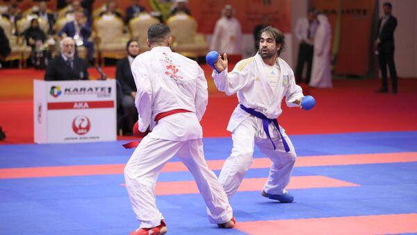 Рафаэль Агаев в турнире Премьер-лига в Дубае - Sputnik Азербайджан