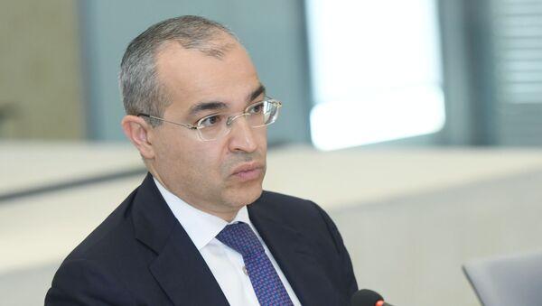 Министр экономики Микаил Джаббаров - Sputnik Azərbaycan