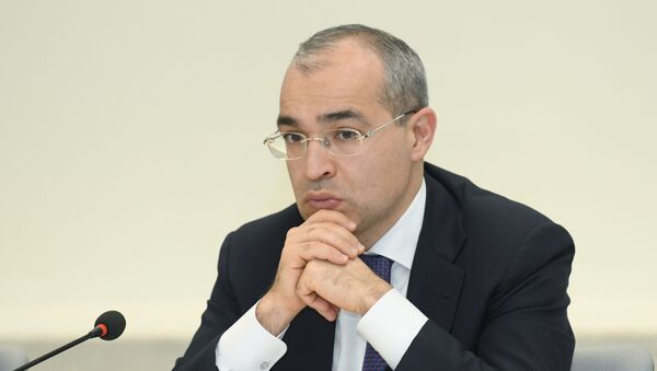 Министр экономики Микаил Джаббаров - Sputnik Азербайджан