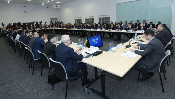 Встреча с предпринимателями - Sputnik Azərbaycan