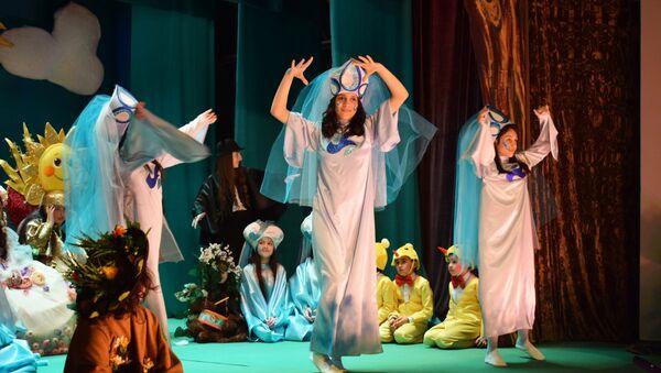 В Азербайджанском государственном кукольном театре - Sputnik Азербайджан