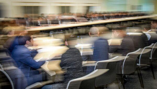 Встреча предпринимателей, фото из архива - Sputnik Азербайджан