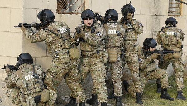 Сотрудники Службы государственной безопасности Азербайджана, фото из архива  - Sputnik Azərbaycan