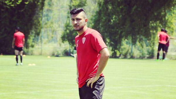Футболист Фуад Байрамов, фото из архива  - Sputnik Азербайджан