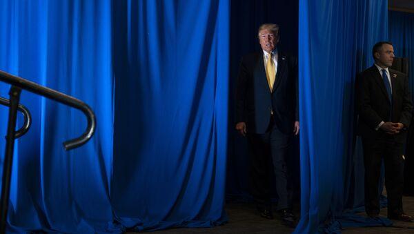 Президент США Дональд Трамп, фото из архива - Sputnik Азербайджан
