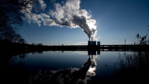 Угольная электростанция, фото из архива - Sputnik Азербайджан