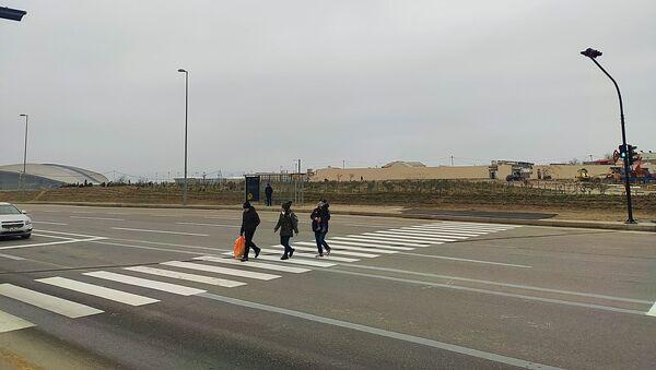 На улице Арифа Исмаиловаa - Sputnik Азербайджан
