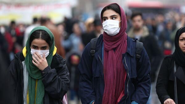 Ситуация в связи с эпидемиологической обстановкой в Иране  - Sputnik Азербайджан