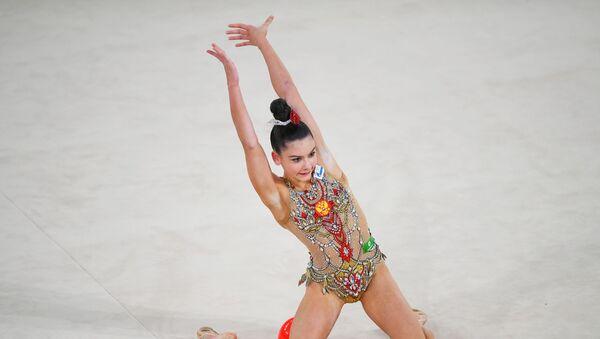 Гимнастка Лала Крамаренко, фото из архива - Sputnik Азербайджан
